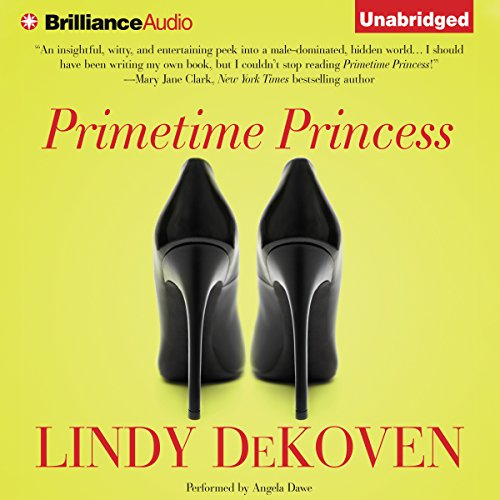 Primetime Princess audiobook cover art