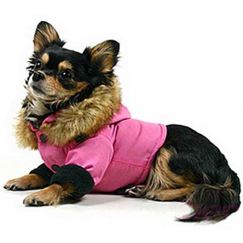 THEO Eskimo Coat, M Pink de
