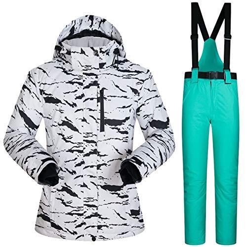 MEOBHI ski pak Ski Jacket Mannen En Vrouwen Winter Ski Pak Warm Kleding Skiën Snowboard Vrouwen Sneeuw Jas Broek Winddicht Waterdicht Plus grootte
