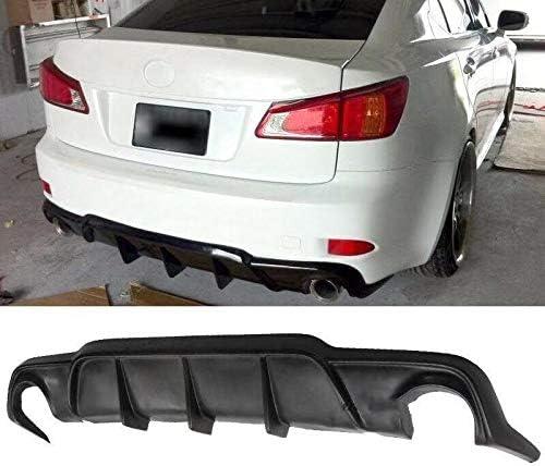 Rear Bumper Lip Diffuser Nippon regular agency Fits 06-13 IS250 Style DMR Lexus Sacramento Mall IS350