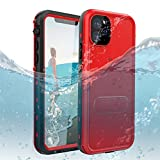 iPhone 11 Pro Max Waterproof Case, Dooge IP69K Certified Shockproof Dirtproof Snowproof Full-Body Heavy Duty Protection Case with Built-in Kickstand Screen Protector for Apple iPhone 11 Pro Max 6.5'