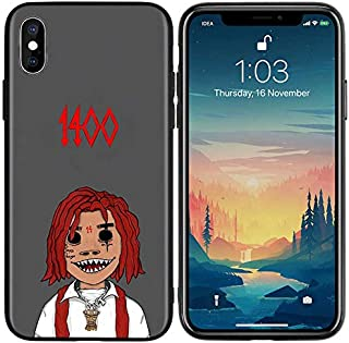 Inspired by Trippie Redd Phone Case Compatible With Iphone 7 XR 6s Plus 6 X 8 9 11 Cases Pro XS Max Clear Iphones Cases TPU- X- Tshirt- Soft Rubber- Keychains- Keychains- 33033163963