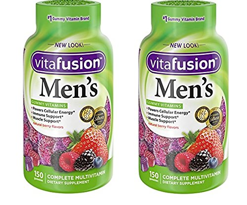 Mens Gummy Vitamins, (Family Bundle)