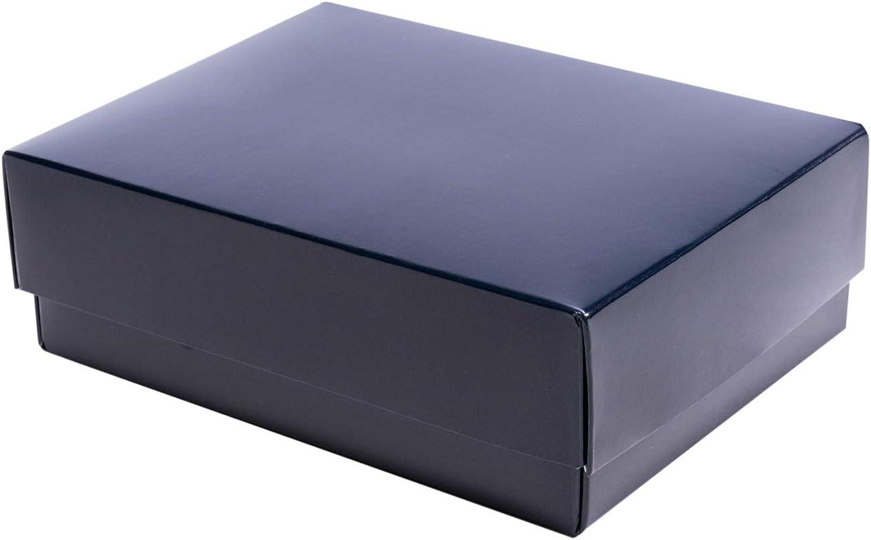 Stülpfaltschachtel TGoldnto  15x11x5 3,5cm in blau B07M59WGLK | Modernes Design