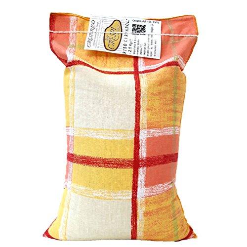 Riso Carnaroli 2,5kg confezione tradizionale in cotone