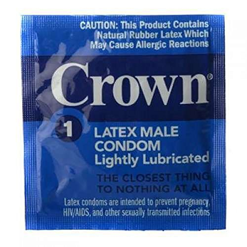 Okamoto CROWN Condoms - 48 Count