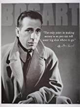 IWDSC 034-1506 Tin Sign - Humphrey Bogart - Money