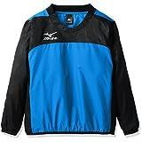 (ミズノ)MIZUNO(ミズノ) サッカーウエア ピステシャツ [ジュニア] P2ME7625 92 ブラック×ターキッシュブルー 160