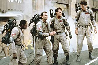 Ghostbusters Bill Murray and the gang wearing uniforms in street 24x36 Poster