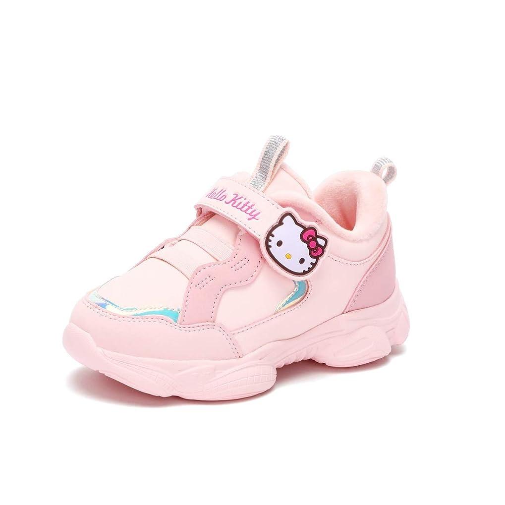歯科医アンデス山脈一貫性のないYSLBY 女の子スニーカー、冬の女の子プラスベルベット暖かい靴、プリンセスカジュアルシューズ (Color : B, Size : 34EU)