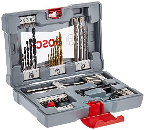 Bosch 2608P00233 - Caja de accesorios premium para taladrar y atornillar, 49piezas