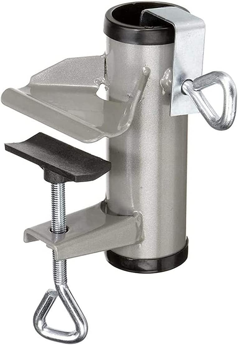 Upgrade Umbrella Spring new work Clamp Stand Holder Large special price !! Duty Heavy Bench Patio Buddy