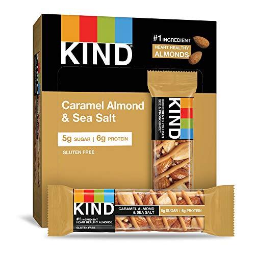12CT KIND Healthy Snack Bar Caramel Almond & Sea Salt 1.4oz Now $10.98