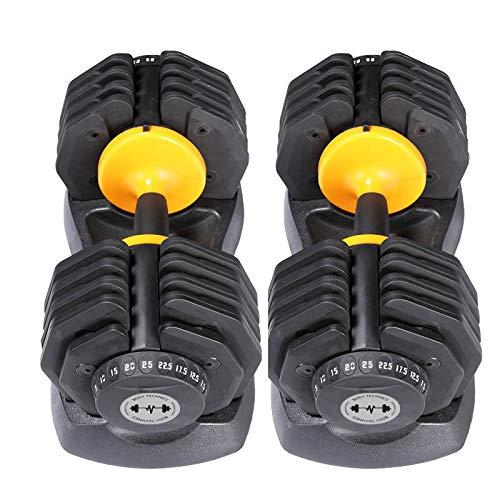 Iron Fitness - Body Technics Haltères réglables de 0...
