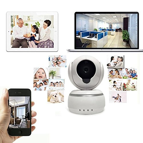PeiteMadun 3D Echo Noise Reduction IP-Kamera, Baby monitor Wireless IP-Kamera 720P HD Home Security Kamera for smart phone