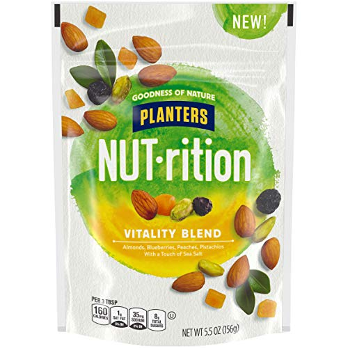 NUTrition Vitality Blend Snack Nuts Mix (5.5 oz Bag)