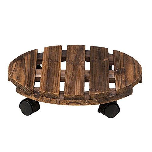 Zhao Li Bloemenstandaard, afneembaar dienblad van massief hout, Bonsai-binnenframe met flessenrek, bescherming tegen corrosie en vracht