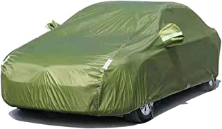 Compatible With Fiat 500L Wagon Full Exterior Covers/High-Quality Car Body Cover All-Weather Rainproof/Snowproof/Windproof...