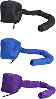 Nlight Bonnet Hood Accesorio para Secador De Pelo Gorro De Secador Portátil para Mujeres,Gorro De Secado Vaporizador De Pelo Sin Manos, Utilizado para Peinado,Acondicionamiento Profundo (3 Piezas)