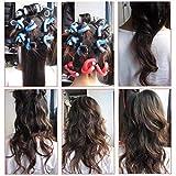 J-ouuo Bigodini a spirale per capelli fai da te e acconciature flessibili