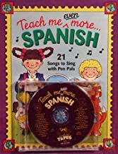 Teach Me Even More Spanish (Paperback and Audio CD): 21 Songs to Sing and A Story About Pen Pals