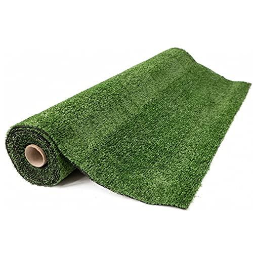 Gutta prato London - Erba sintetica per esterno 7mm 1x5 metri –colore verde – Rotolo erba sintetica