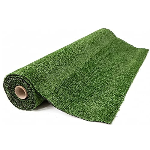 Gutta prato London - Erba sintetica per esterno 7mm 1x5 metri –colore verde – Rotolo erba...