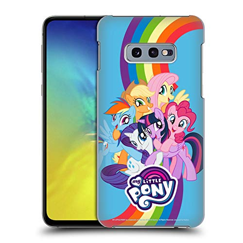 Head Case Designs Officially Licensed My Little Pony Group Character Art Hard Back Case Compatible with Samsung Galaxy S10e