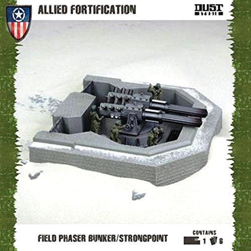 Dust Tactics: Allies Fortification: Field Phaser Bunker/Strongpoint