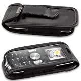 caseroxx Leather-Case with belt clip for LG GB102 made of
