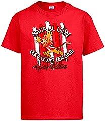 Camiseta saca el León Que llevas Dentro Bilbao fútbol Athletic