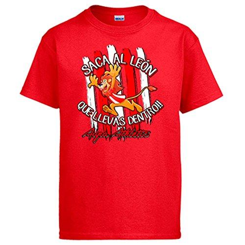 Diver Camisetas Camiseta saca el León Que llevas Dentro Bilbao fútbol Athletic...