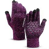 COOYOO Winter Gloves for Women and Men,Touchscreen Gloves,Running Gloves