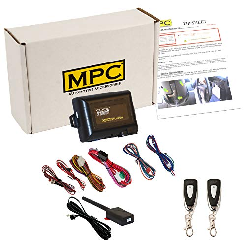 MPC Products Complete 1-Button Remote Start Kit for 2000-2001 Ford F-250 Super Duty