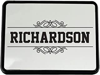 Style In Print Personalized Custom Text Monogram Lines Plastic Truck Hitch Cover