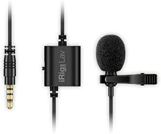 IK Multimedia iRig Mic Lav compact lavalier microphone for smartphones and tablets (two-pack) - IP-IRIG-MICLAVDUAL-IN