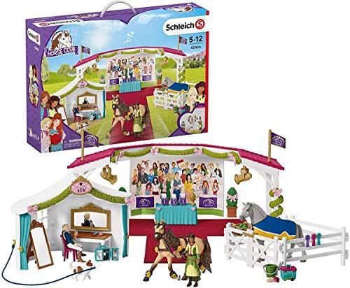 SCHLEICH Horse Club Spielset - Große Pferdeshow , Spielzeug ab 5 Jahren