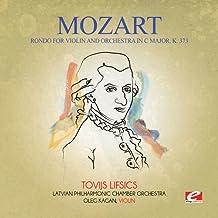 Rondo for Violin & Orchestra in C Major K. 373