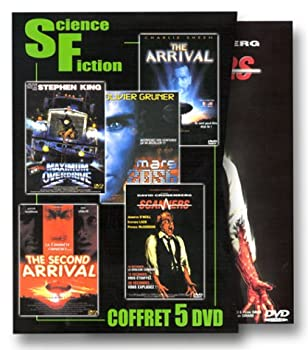 Coffret Science-Fiction   The Arrival / The Second Arrival / Scanners / Mars 2056 / Maximum Overdrive