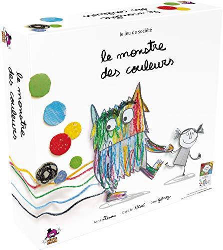 Le Monstre des couleurs - Asmodee - Jeu de société - Jeu enfant coopératif