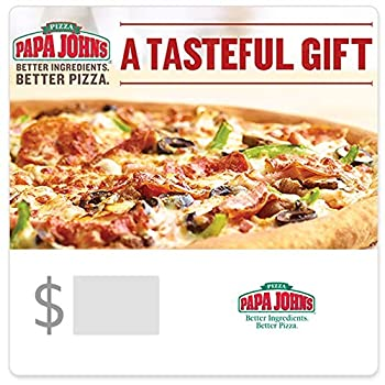 Papa John s Pizza Gift Cards - E-mail Delivery
