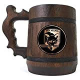 FOX HOUND, Metal Gear Solid Beer Mug, Super Smash Bros Beer Gift, Video Game Beer Stein, Geek Gift, Gift for Gamer, Gift for Him, Engraved Beer Mug
