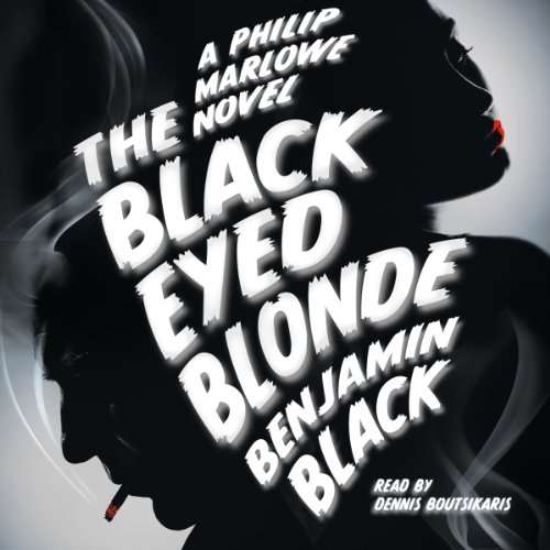 The Black Eyed Blonde audiobook cover art