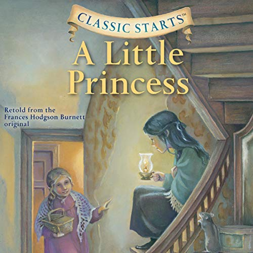 A Little Princess audiobook cover art