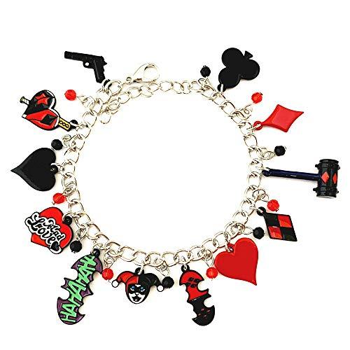 51RJP09Yu-L Harley Quinn Bracelets