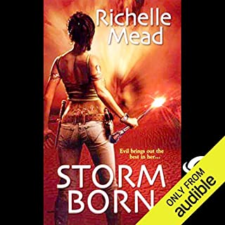 Storm Born audiobook cover art