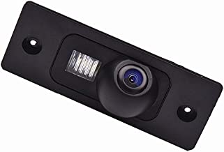 Misayaee Rear View Back Up Reverse Parking Camera in License Plate Lighting Night Version (NTSC) for Cayenne 2002-2010