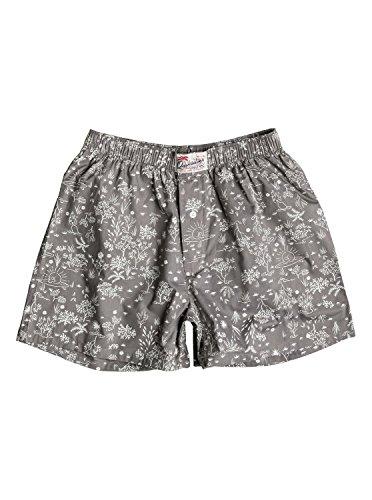 Quiksilver Mens Woven Boxershorts Unterwäsche (grau) XL