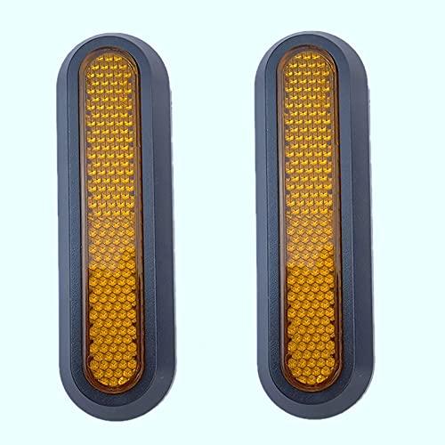 Fransande - Cubierta de buje de rueda reflectante para Scooter eléctrico M365 Pro 2 para M365 1S M365 Pro Pro Proteger las piezas de tabla con ruedas de carcasa