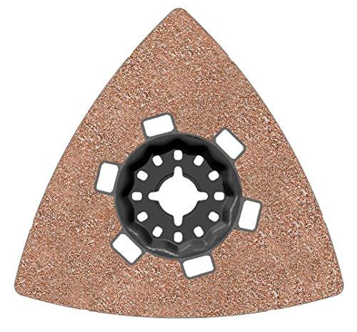 Bosch 2609256F02Schleifplatte AVZ 90RT4Körnung 40Zubehör Starlock, schwarz